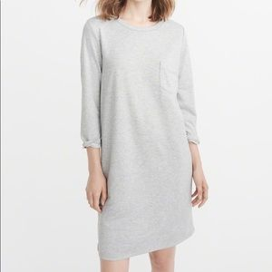 Abercrombie Striped Knit Shift Dress